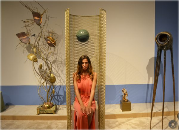 "Galerie BSL, Faye Toogood, ""Cage Chair"""
