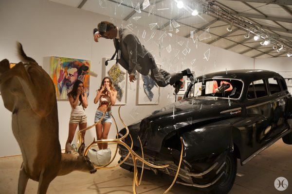 """Peter Gronquist, """"Crash as a self-portrait"""""""