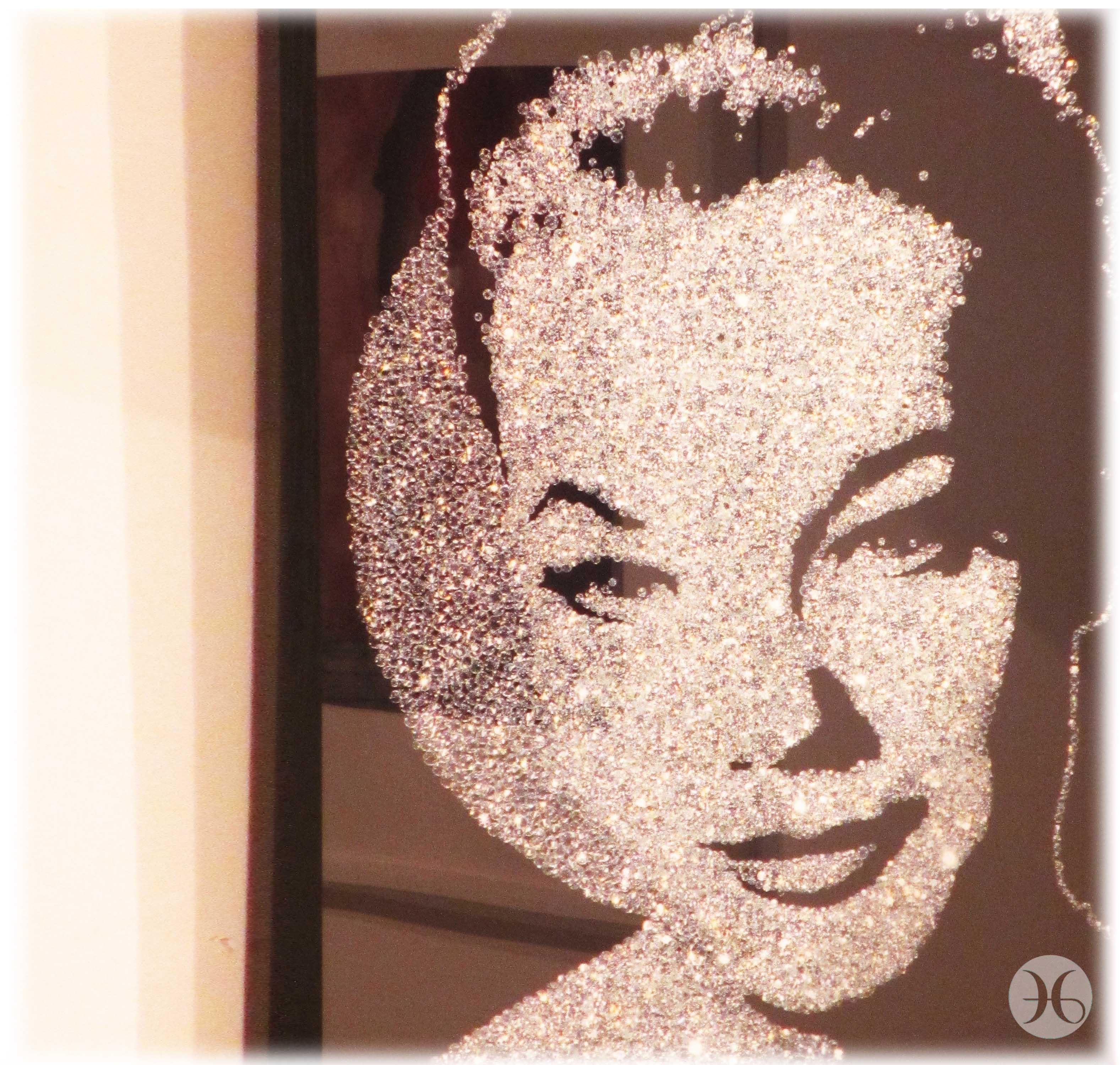 Glitter portrait, Louise Alexander Gallery