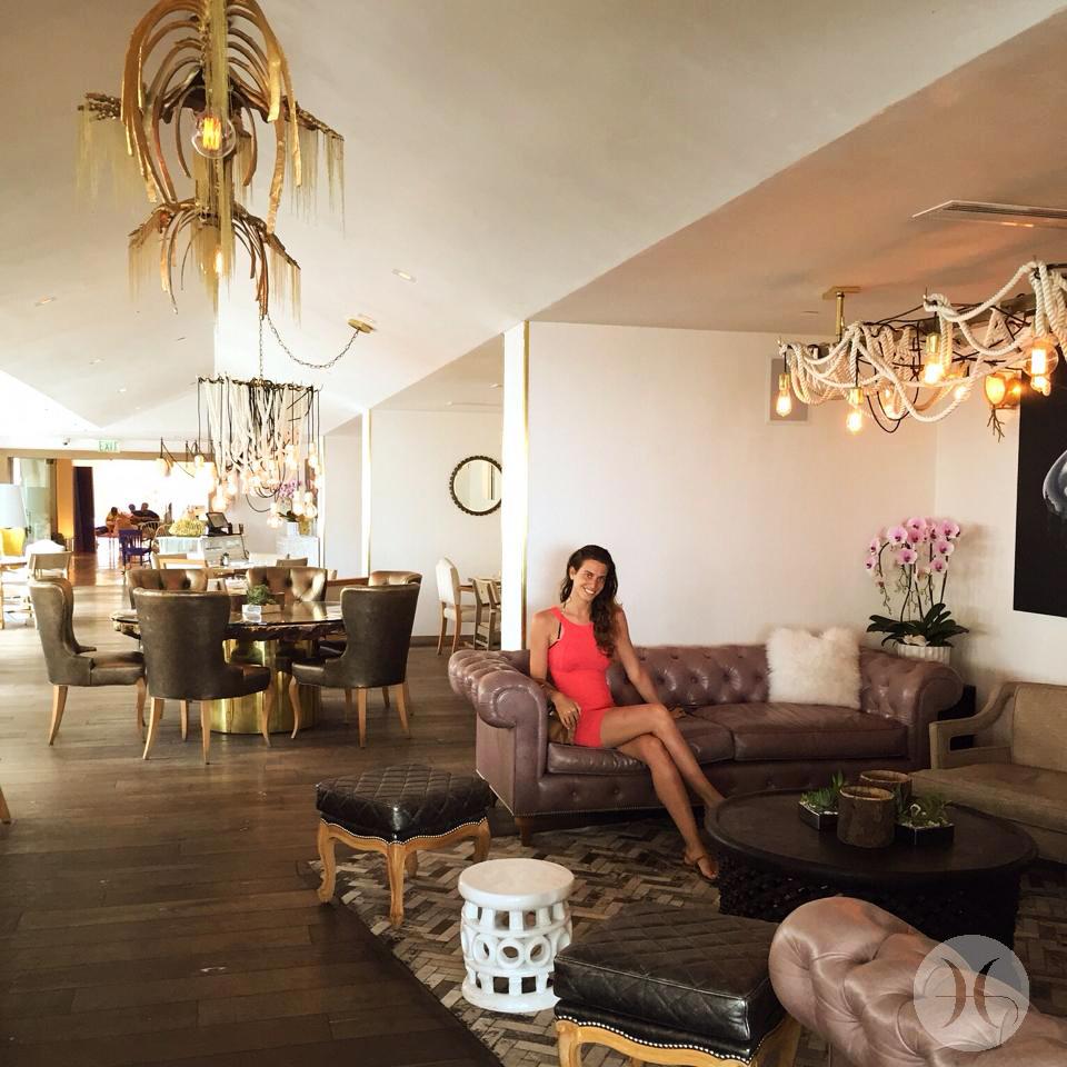 Mondrian Hotel, Lounge