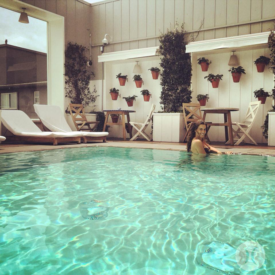 Mondrian Hotel, Swimming pool