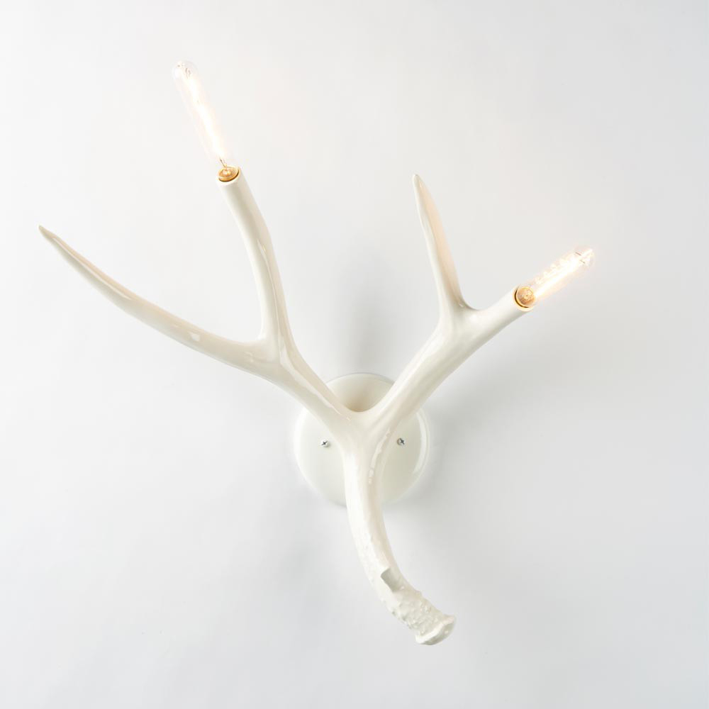 Superordinate Antler Sconce, Jason Miller