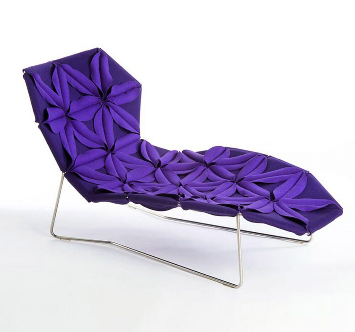 2. Antiboldi lounge chair, Patricia Urquiola for Moroso