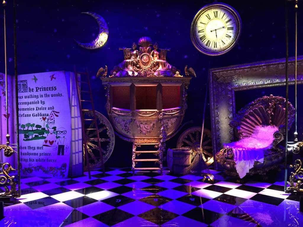 Fairy tale theme for Dolce&Gabbana Show