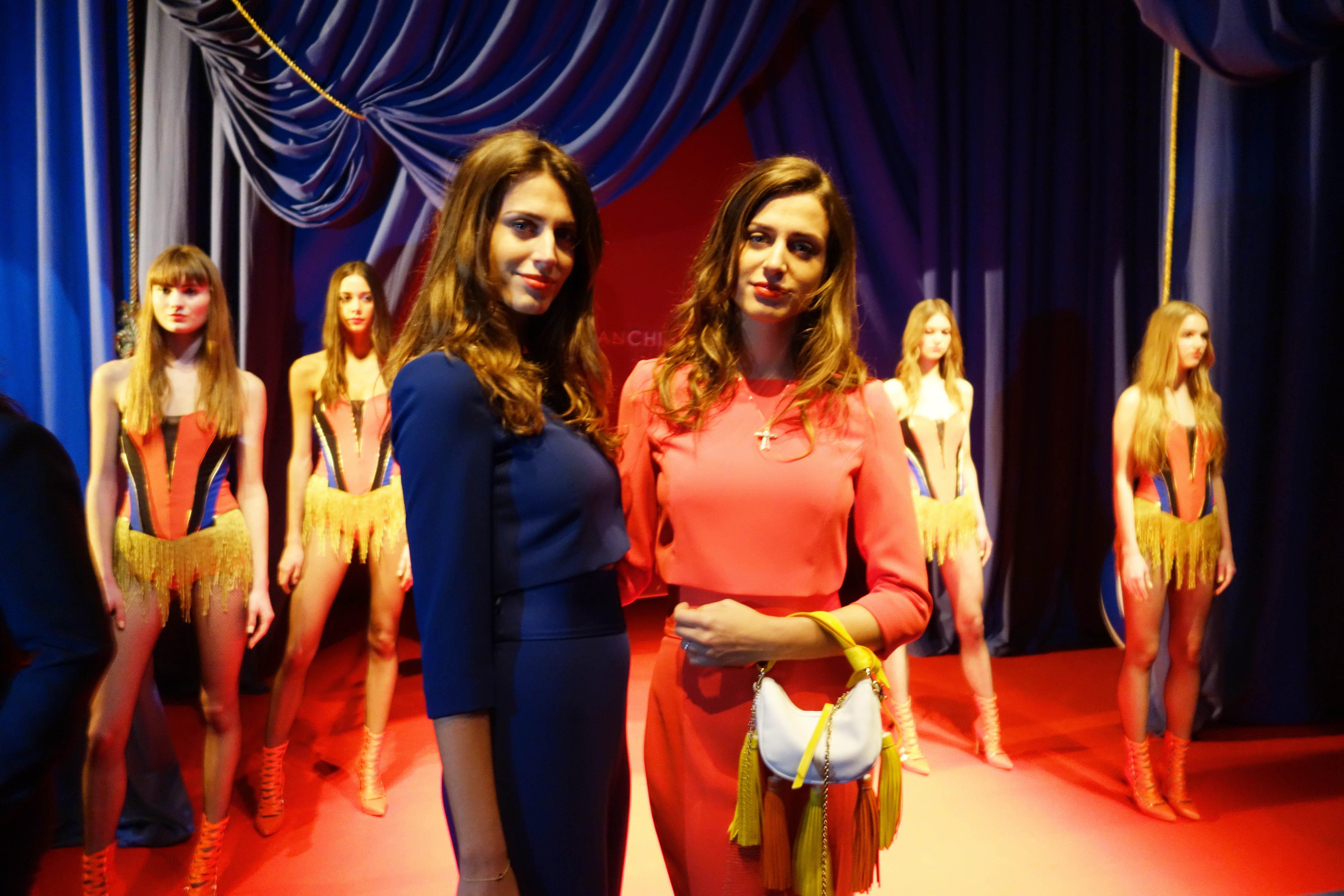 Circus theme for Elisabetta Franchi Show