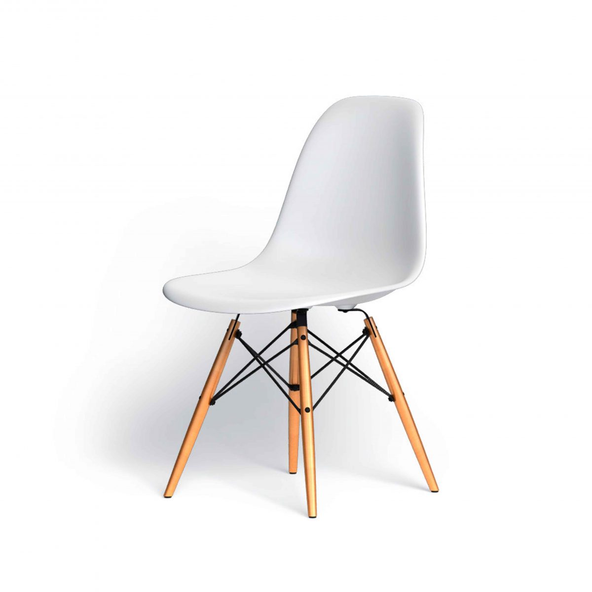 Eames Plastic Side Chair DSW | Vitra