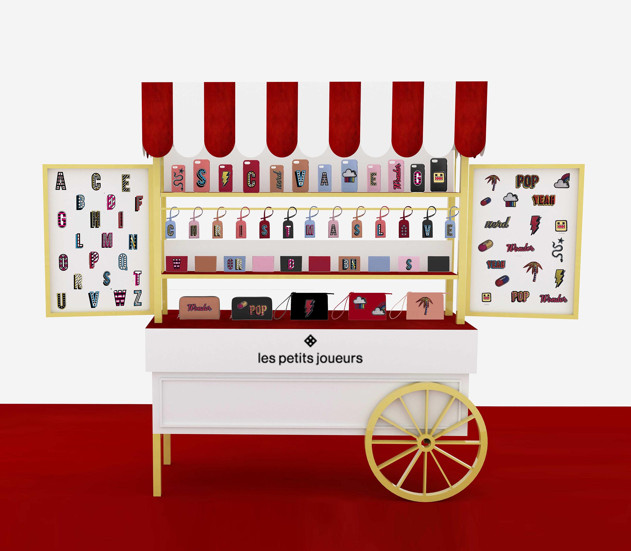 0a8b6c9c18 Christmas Cart Pop up for Les Petits Joueurs Customization Project  RINASCENTE
